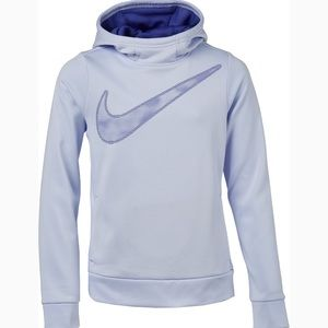 Nike Girls Therma Graphic Training Pullover Hoodie NWT